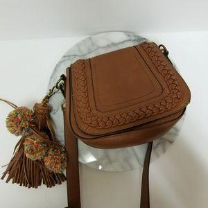 Steve Madden brown crossbody bag